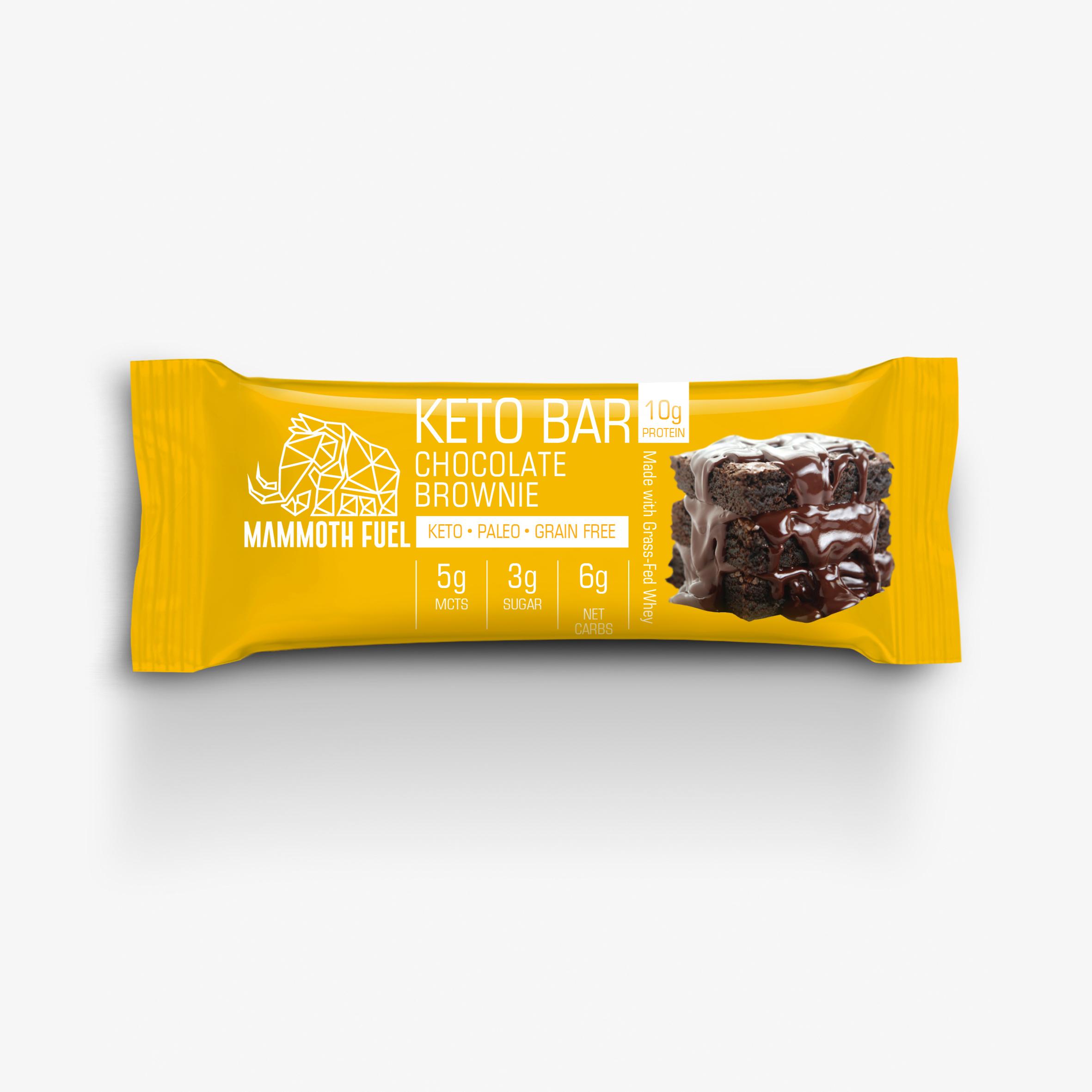 ketobar brownie 3D